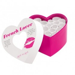 FRENCH LOVER MINI CORPS A COEUR